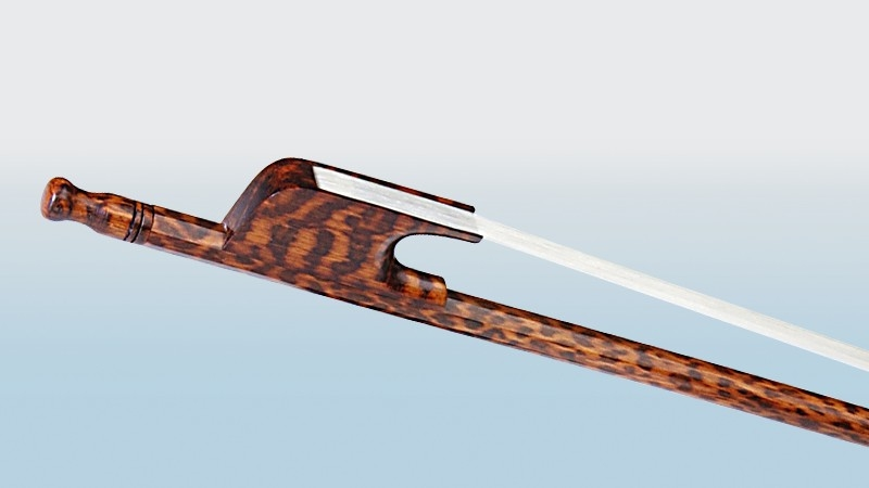 Bow # 6 Model Bows Pernambuco Snakewood